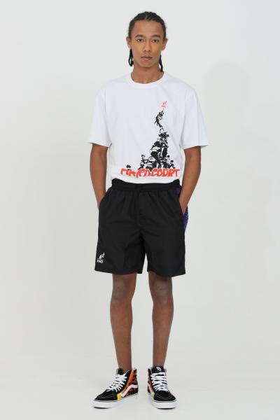 AUSTRALIAN T-shirt uomo bianco Australian a manica corta e logo frontale.Modello comodo  T-shirt | HCUTS0010002