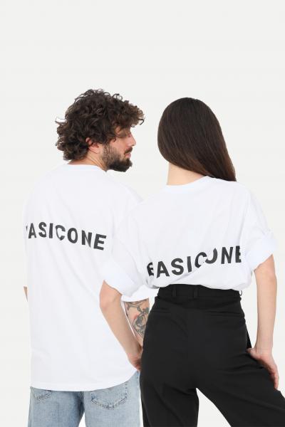 BASIC ONE T-shirt unisex bianco basic one a manica corta  T-shirt   BSC1T1BIANCO