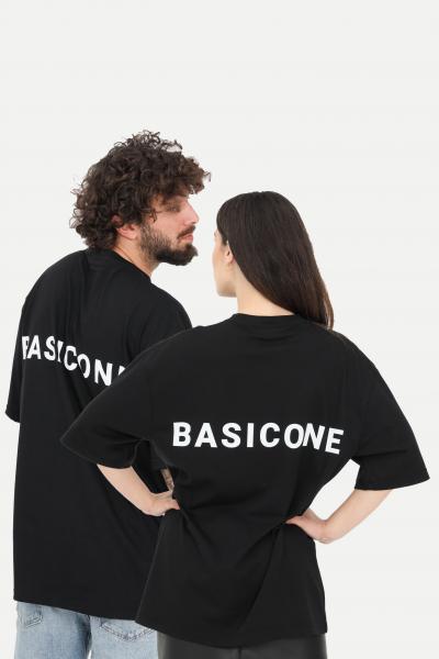 BASIC ONE T-shirt unisex nero basic one a manica corta  T-shirt   BSC1T1NERO