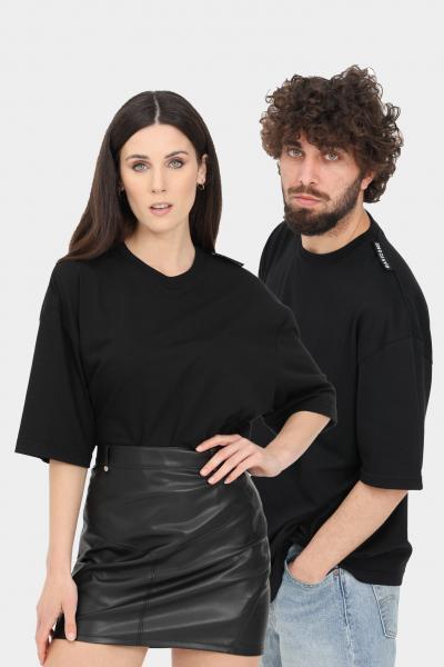 BASIC ONE T-shirt unisex nero basic one a manica corta  T-shirt   BSC1T3NERO