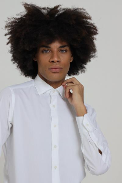 BRANCACCIO CARUSO Camicia uomo bianco brancaccio caruso elegante  Camicie | CDC1500