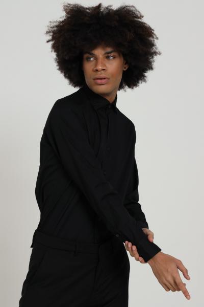 BRANCACCIO CARUSO Camicia uomo nero brancaccio caruso elegante  Camicie | CDC1519