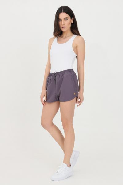 CARHARTT Shorts donna viola carhartt sport in tinta unita  Shorts | I028940.030AF.90