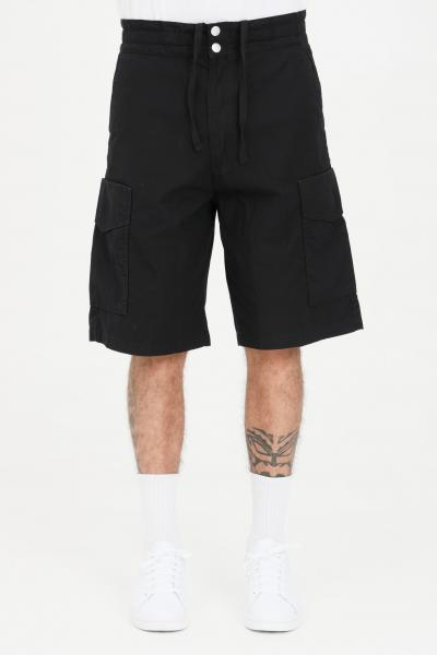 CARHARTT Shorts denver unisex nero carhartt casual a vita alta  Shorts | I029163.0389.06