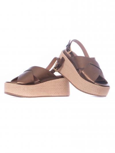 CARMENS Sandali Geranium CARMENS  scarpe | 47073LUXBRONZO