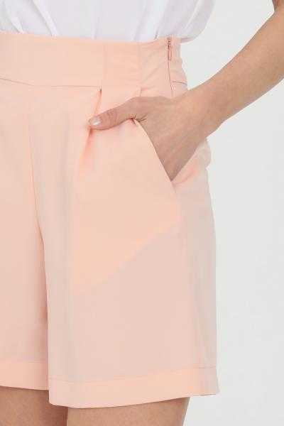 DRAMèE Shorts donna rosa dramee elegante chiusura con zip laterale  Shorts | D21071ROSA