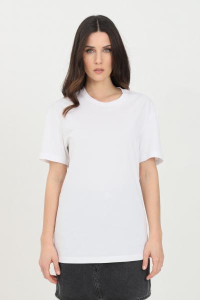DSQUARED2 T-shirt unisex bianco dsquared2 a manica corta con mini logo sul retro  T-shirt | D9X3C2370100