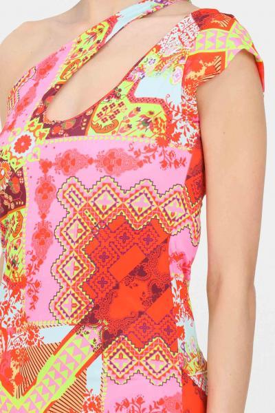 F**K Fuoriacqua lungo donna f**k stampa multicolor  Abiti | F21-0378X1.