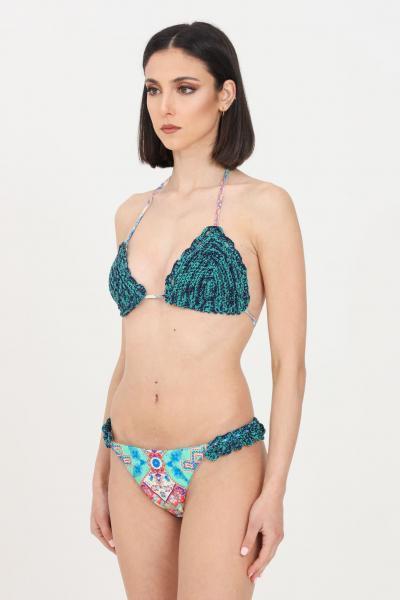 F**K Costume donna multicolor f**k bikini con stampa geometrica  Abbigliamento da spiaggia | F21-0390X2.