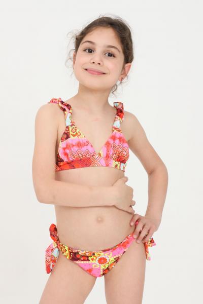 F**K Bikini bambina con stampa fantasy f**k  Abbigliamento da spiaggia | FJ21-0320X1.