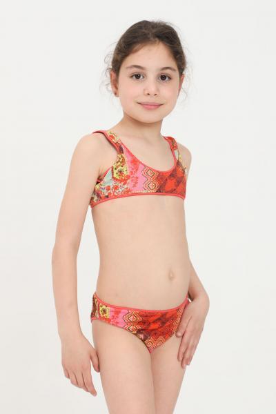 F**K Costume bambina multicolor f**k bikini  Abbigliamento da spiaggia | FJ21-0400X1.