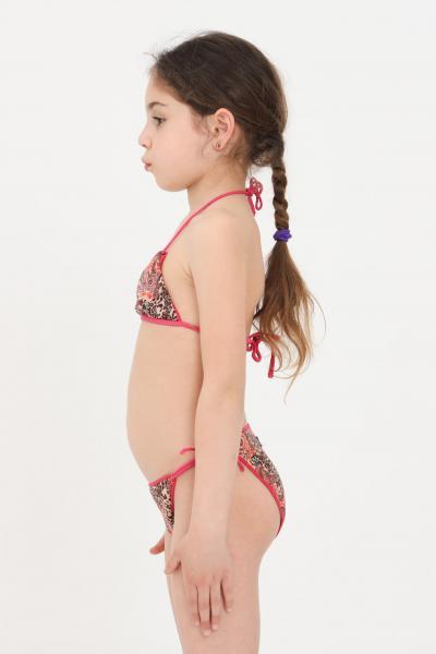 F**K Costume bambina fantasia f**k bikini triangolo e slip con laccetti  Abbigliamento da spiaggia | FJ21-0522X1.