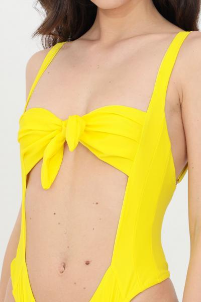 FEMINISTA Beachwear donna giallo feminista costume intero  Abbigliamento da spiaggia   GIUNONEGIALLO