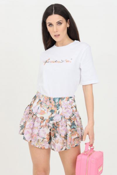 FEMINISTA T-shirt donna bianco feminista a manica corta  T-shirt   SELENABIANCO-FANTASIA