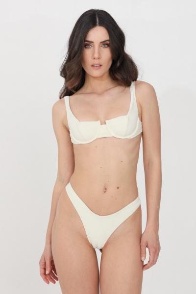 FEMINISTA Beachwear costume donna bianco feminista  Abbigliamento da spiaggia   URANIAPANNA