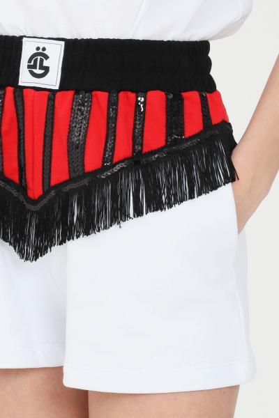 GAELLE Shorts donna bianco gaelle casual  Shorts | GBD8315BIANCO