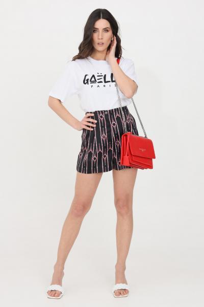 GAELLE Shorts donna nero gaelle elegante  Shorts | GBD8624NERO