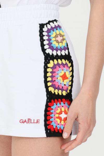 GAELLE Shorts donna bianco gaelle casual  Shorts | GBD8758BIANCO