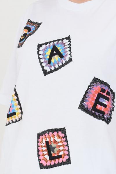 GAELLE T-shirt donna bianco gaelle a manica corta  T-shirt | GBD8762BIANCO