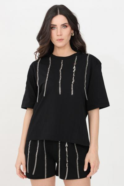 GAELLE T-shirt donna nero gaelle manica corta  T-shirt | GBD8790NERO