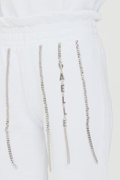 GAELLE Pantaloni donna bianco gaelle casual  Pantaloni | GBD8791BIANCO