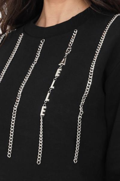 GAELLE Felpa donna nero gaelle modello girocollo  Felpe | GBD8793NERO