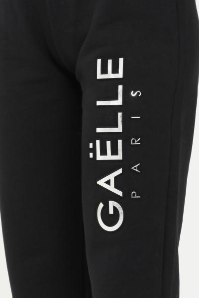 GAELLE Pantaloni donna nero gaelle con coulisse in vita  Pantaloni | GBD8816NERO