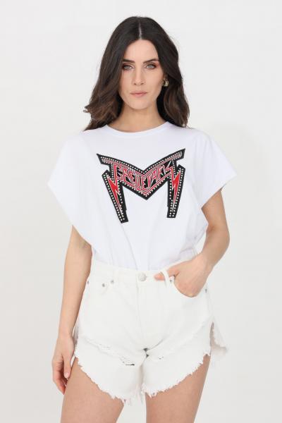 GAELLE T-shirt donna bianco gaelle a manica corta  T-shirt | GBD8823BIANCO