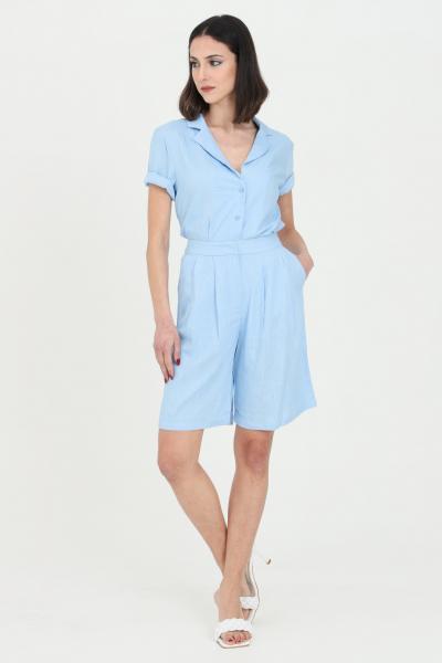 GLAMOROUS Short donna blue Glamorous casual modello comodo  Shorts   CK6076SKYBLUE