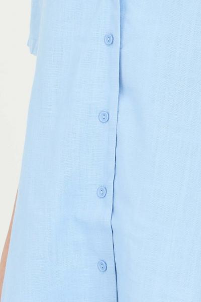 GLAMOROUS Camicia donna azzurro Glamorous con scollo.Modello over comodo, chiusura con bottoni e maniche corte  Camicie   CK6077SKYBLUE
