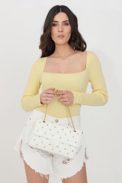 GLAMOROUS Top donna lemon glamorous casual  Top   KK0187LEMON