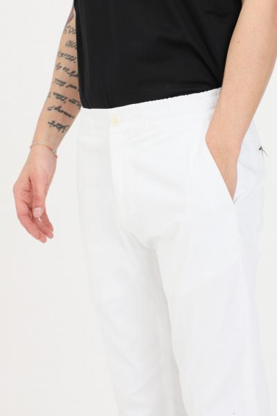GOLDEN CRAFT Pantaloni uomo bianco golden craft casual taglio classico  Pantaloni   GC1PSS215885A001