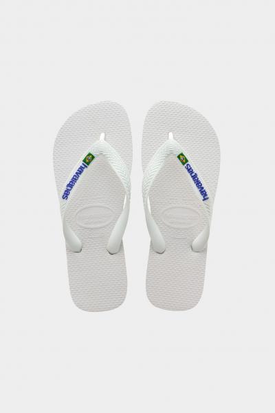 HAVAIANAS Infradito h brasil logo fc unisex bianco havanaias  Infradito | 4110850.0001.F130001