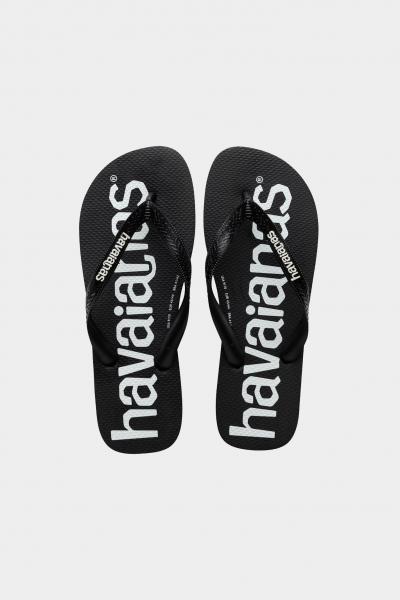 HAVAIANAS Infradito top logo mania fc preto black unisex nero havaianas  Infradito   4144264.0090.M18M18