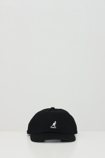 KANGOL Cappello unisex nero kangol, modello berretto con logo ricamato  Cappelli | K5165HTBK001