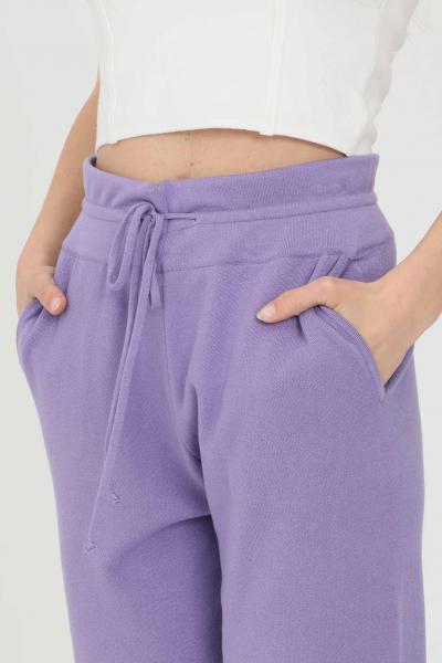 KONTATTO Pantaloni donna lavanda kontatto casual  Pantaloni | 3M7264141