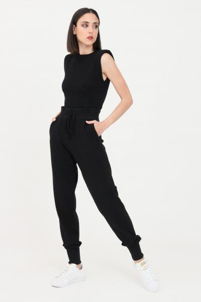 KONTATTO Pantaloni donna nero kontatto casual  Pantaloni | 3M7264NERO