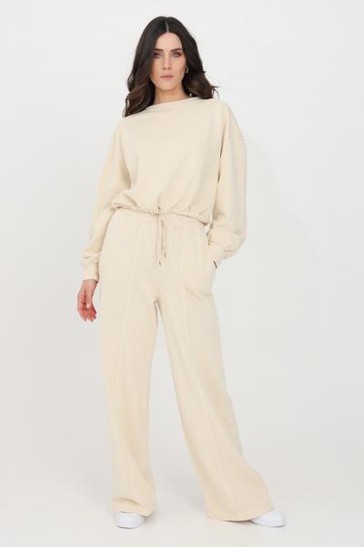 KONTATTO Pantaloni donna beige kontatto casual modello over  Pantaloni | M161031