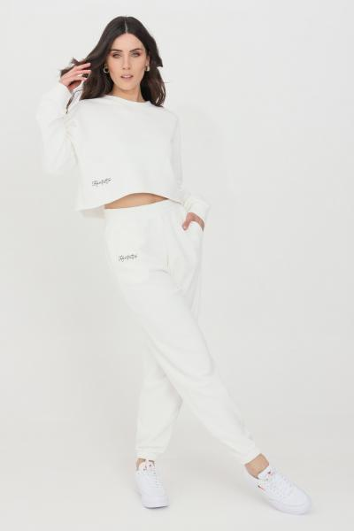 KONTATTO Pantaloni donna bianco kontatto casual  Pantaloni | SDK20002