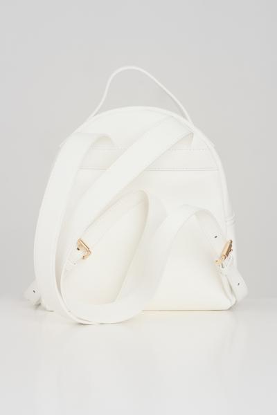 LOVE MOSCHINO Zaino donna bianco love moschino con logo oro a rilievo  Zaini | JC4053PP1C-LF0100