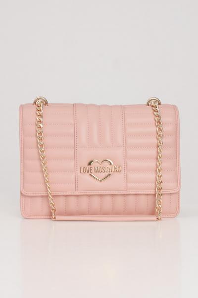 LOVE MOSCHINO Borsa donna rosa love moschino con tracolla  Borse | JC4064PP1C-LA1600