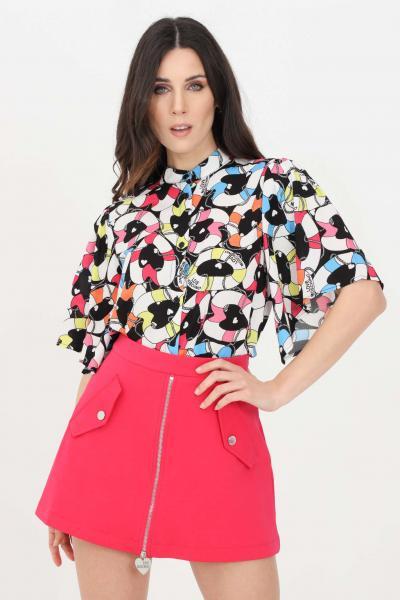 LOVE MOSCHINO Camicia donna multicolor love moschino casual  Camicie   WCE0800T109A0014