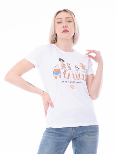 MANILA GRACE T-shirt stampa women MANILA GRACE  T-shirt   T001CUMA029