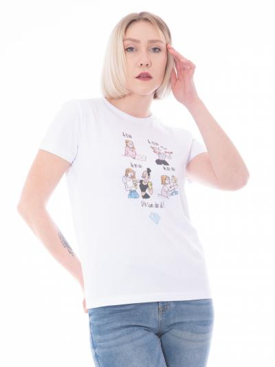 MANILA GRACE T-shirt stampa women MANILA GRACE  T-shirt   T002CUMA029
