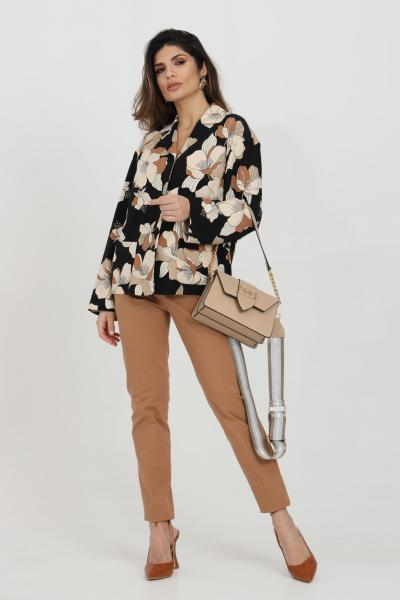 MAX MARA Pantalone donna caramello max mara. Modello a sigaretta elegante. Chiusura con bottone e zip  Pantaloni   61310311600031