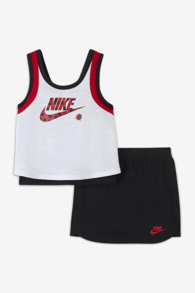 NIKE Completino Bianco e nero neonato Nike  Completini   16H773-02323