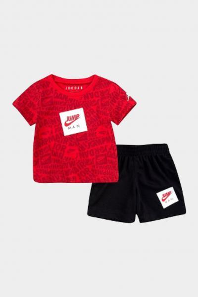 NIKE Completino neonato rosso-nero nike jordan  Completini   65A358-02323