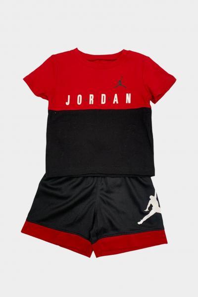 NIKE Completino neonato rosso-nero nike jordan  Completini   65A396-02323