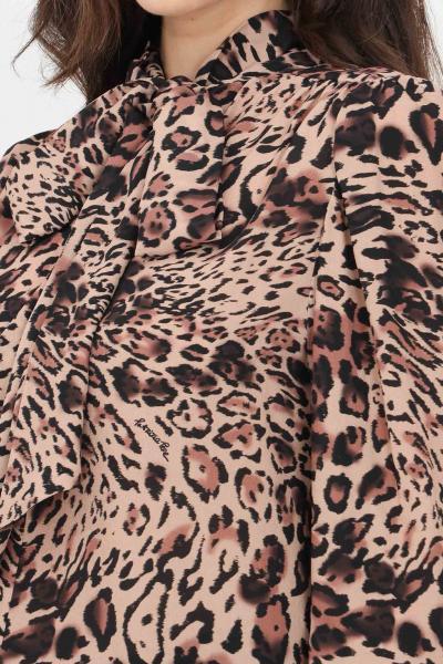 PATRIZIA PEPE Blusa donna animalier patrizia pepe elegante con stampa allover  Bluse | 8C0455-A8V2B677