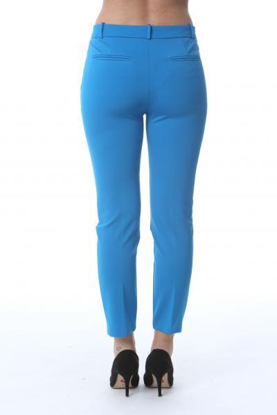 PINKO Pantalone donna azzurro pinko elegante modello cigarette  Pantaloni | 1G15LF-5872G32